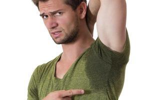 armpit smell sweat