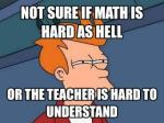 maths confused