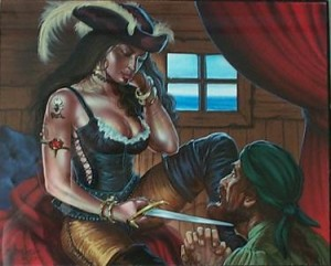 Dominant Pirate Woman