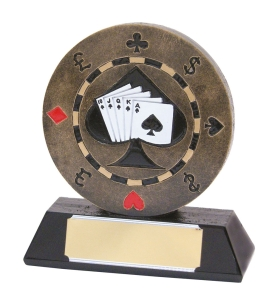poker trophy