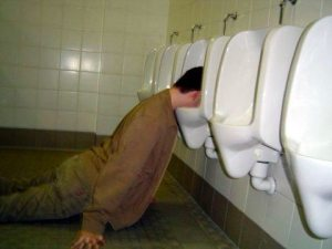 Drunk Guy Urinal